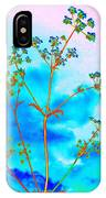 Cow Parsley Blossom 2 IPhone Case