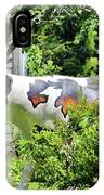 Cow Statue IPhone Case