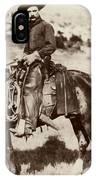 Cowboy, 1887 IPhone Case