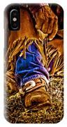 Cowboy Gold IPhone Case