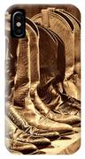 Cowgirl Boots Collection IPhone Case