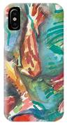 Coy Pond Fish IPhone Case