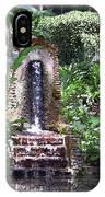 Coyaba Garden Ornamental Fountain IPhone Case