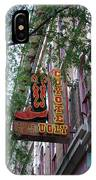 Coyote Ugly Saloon Nashville IPhone Case