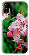 Crab Apple Blossom IPhone X Case