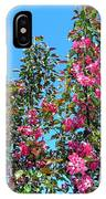 Crab Apple Blossoms IPhone Case