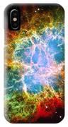Crab Nebula IPhone Case