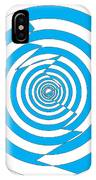 Cracked Circles 1 IPhone Case