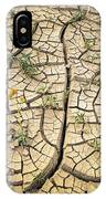 317805-cracked Mud Patterns  IPhone Case