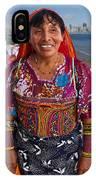 Craft Vendor In Panama City, Panama IPhone Case