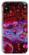 Cranberry Glisten IPhone Case