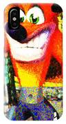 Crash Bandicoot IPhone Case