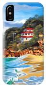 Crash Boat Beach IPhone X Case