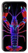 Crawfish In The Dark-  Redblue IPhone Case