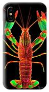 Crawfish In The Dark - Rouillegreen IPhone Case