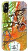 Crayon Scribble#3 IPhone Case