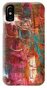 Crazy Abstract 1 IPhone Case