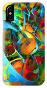 Crazy Blue 3566 IPhone Case