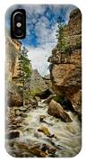 Crazy Woman Canyon IPhone Case