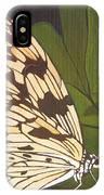Cream And Orange Butterflies IPhone Case