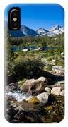 Creek At Heart Lake IPhone Case
