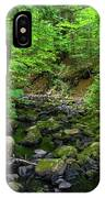Creek Crossing In Ma IPhone Case