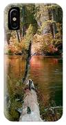 Creek Fall IPhone Case