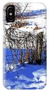 Creek Fenceline IPhone Case