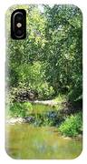 Creek In A Forest IPhone Case