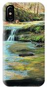 Creek In Dappled Light At Don Robinson State Park 1 IPhone Case
