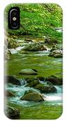 Creek In Great Smoky Mountains National IPhone Case