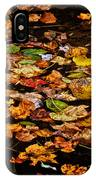 Creek Leaves IPhone Case