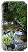 Creek On Mt. Spokane 1 IPhone Case