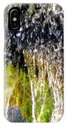 Creek Running Through Moss-covered Stones 1 IPhone Case