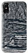 Creepy Cabin In The Woods IPhone Case