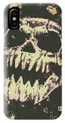 Creepy Face From Nightmares Past IPhone Case