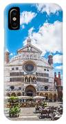 Cremona Market Square With Cathedral IPhone Case