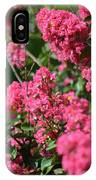 Crepe Myrtle Blossoms 2 IPhone Case