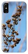Crepe Myrtle In Blue IPhone Case