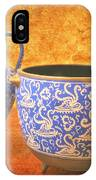 Crete Blue And Gold Jug And Bowl IPhone Case