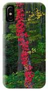 Crimson Creeper IPhone Case