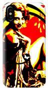 Crimson Moon IPhone Case