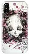 Crimson Skull IPhone Case