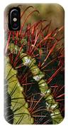 Crimson Thorns 2 IPhone Case