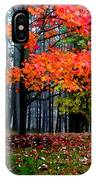 Crimson Tree IPhone Case