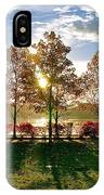 Crisp Autumn Day IPhone Case