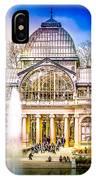 Cristal Palace Retiro Madrid IPhone Case