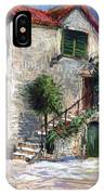 Croatia Dalmacia Square IPhone Case