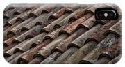 Croatian Roof Tiles IPhone X Case