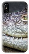Crocodile Eye IPhone Case